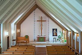 Blick von der Empore in den Innenraum der St.-Stephanus-Kirche - Copyright: Manfred Maronde